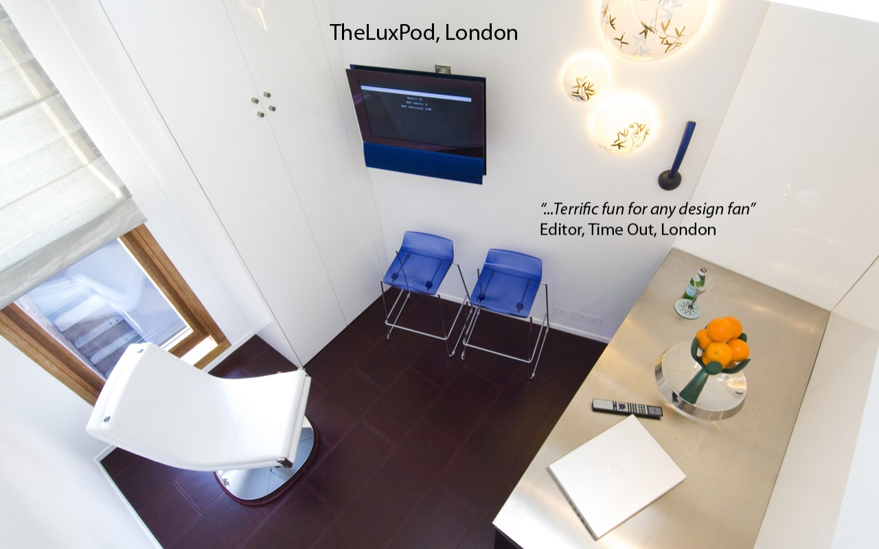 Completed project - TheLuxPod, London